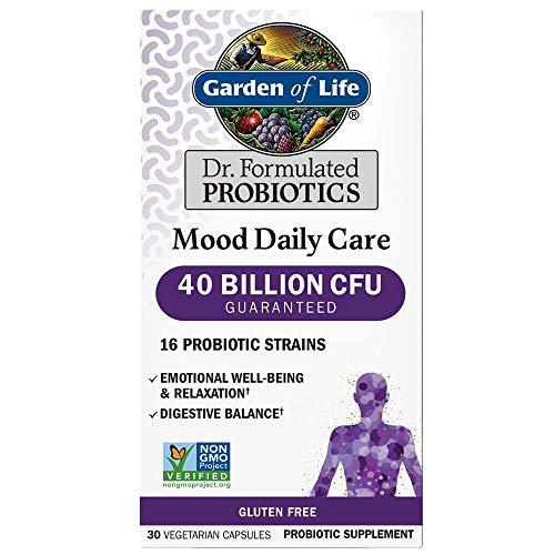 Garden of Life Mood Daily Care Probiotics, 30 Vegetarian Capsules