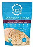 Keto Factory Rustic Bread Mix, 9.7 Oz | 100% Organic, Keto and Diabetic Friendly, 0g Net Carbs, Gluten-Free, High 4g Dietary Fiber, Dairy Free, Grain-Free, No added sugars