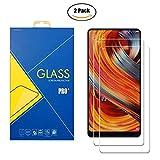 Glass Com 2Pack Protector Cristal Vidrio Templado Xiaomi Mi Mix 2–Snap-on pantalla antiarañazos