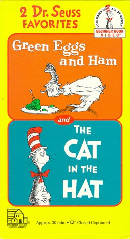 Dr. Seuss - Green Eggs & Ham/The Cat in the Hat [VHS]