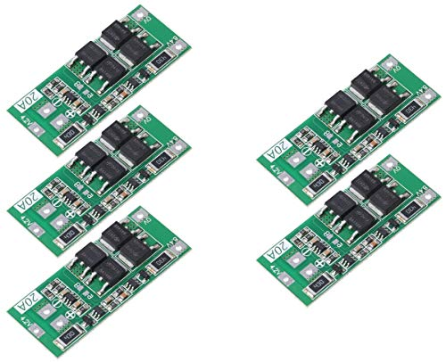 5pcs 2S 20A 7.4V 8.4V 18650 Lithium Battery Protection Board BMS Balance Version