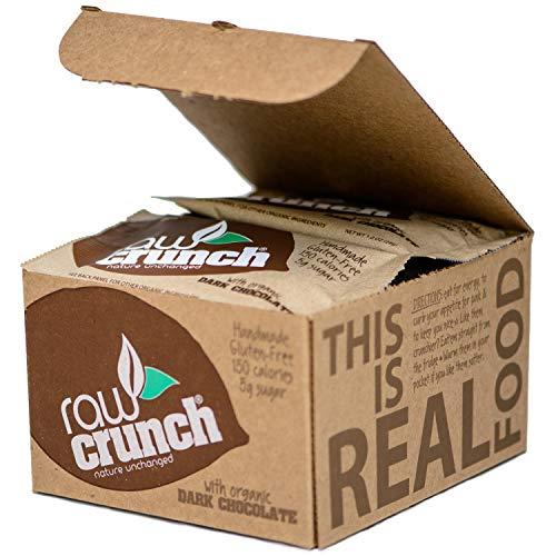 Raw Crunch Bars - Organic Dark Chocolate