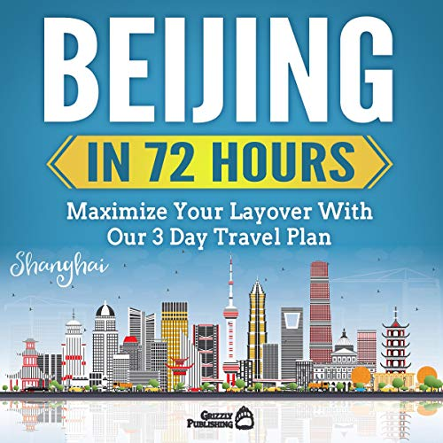 Beijing in 72 Hours audiobook cover art