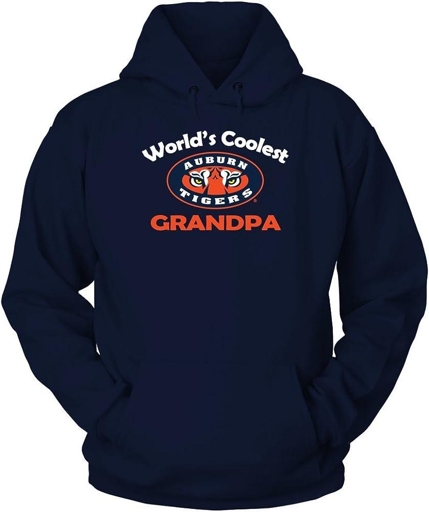 FanPrint Auburn マーケティング Tigers Hoodie 正規取扱店 Coolest - Grandpa World's