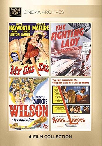 My Gal Sal / The Fighting Lady / Wilson / Sons (9 Dvd) [Edizione: Stati Uniti] [Italia]