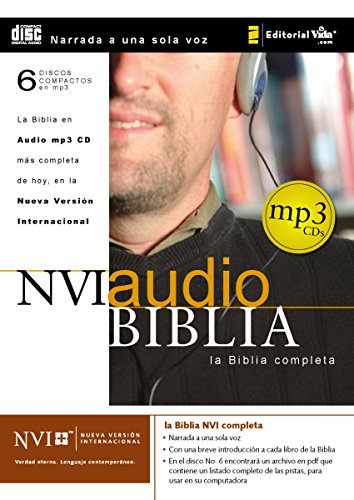 NVI Biblia audio MP3 CD