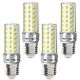 LED E27 Silber Mais Glühbirnen 6500K Kaltweiß 1450LM E27 LED Lampen statt 100W Glühlampe Nicht...