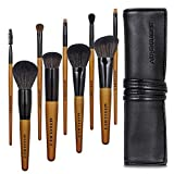 Makeup Brushes 9Pcs Professional Vegan Makeup Brush Set High-tech Nanometer Fiber Foundation Brush Travel Brush Concealer Cosmetic Eyeshadow Brush Sets