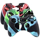 Sudroid Super Soft Silikon Hülle Abdeckung Fall für Xbox 360 Controller Camo (3 Farben Paket) Sudroid Xbox 360