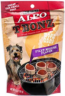 Purina New 375878 Alpo Tbonz Filet Mignon 4.5 Oz (5-Pack) Dog Food Wholesale Bulk Pets Dog Food Boys