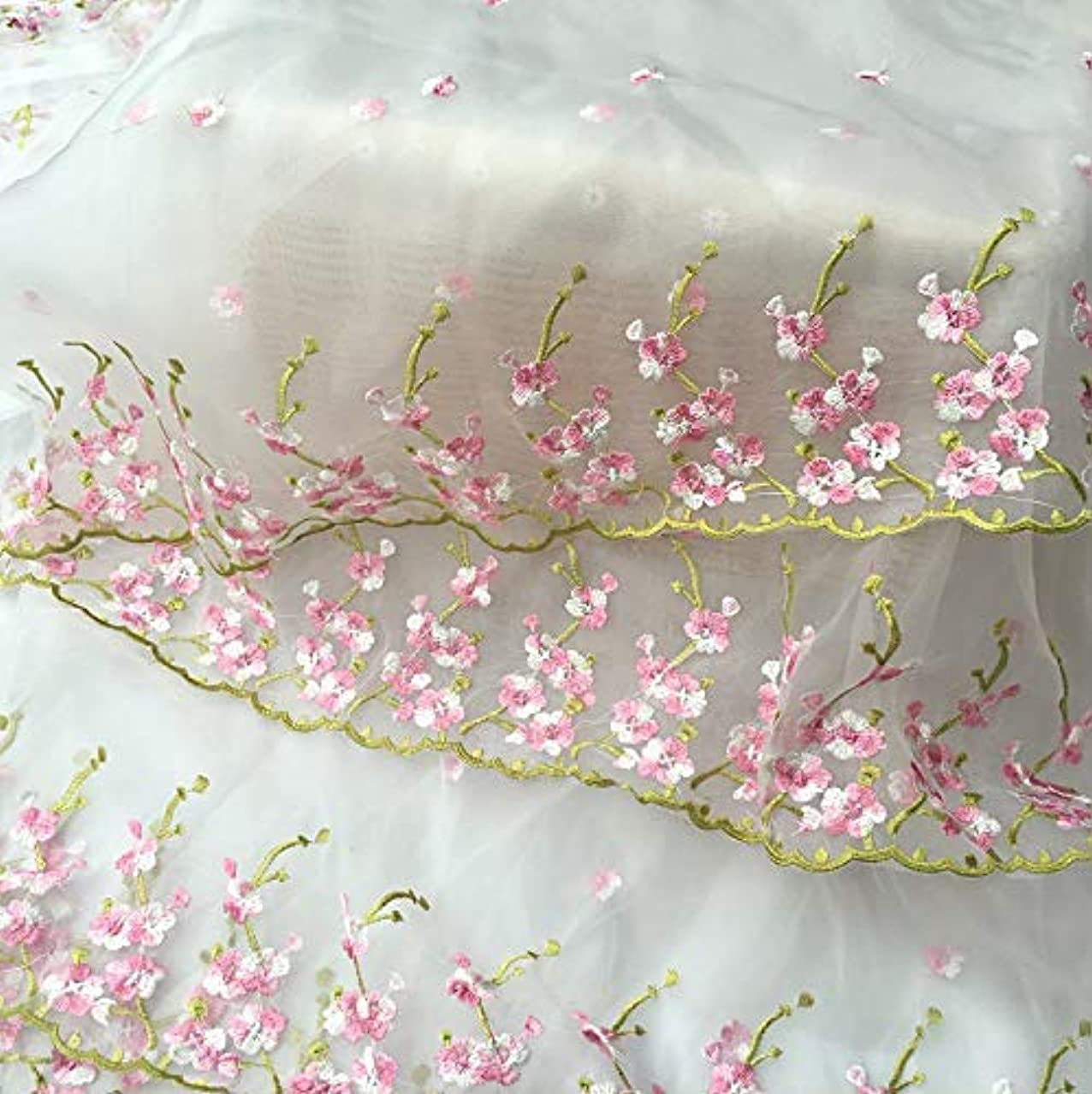 Fongbay African Lace Fabric 5 Yards 51