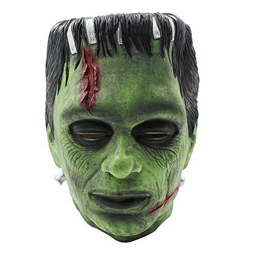 JNKDSGF Horror maskFunny Frankenstein Latex Masker Cosplay Eng De Wetenschapper Halloween Masquerade Party Masker Props