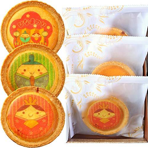 ひなまつり チーズタルト 3個セット 個包装 タルト 洋菓子 お菓子 詰め合わせ スイーツ 化粧箱入り