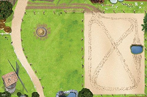 Stikkipix Pferdekoppel Spielmatte Bild