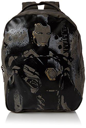 Marvel Iron Man Canvas Backpack Legend Range Rucksack 45 Centimeters Grau (Grey)