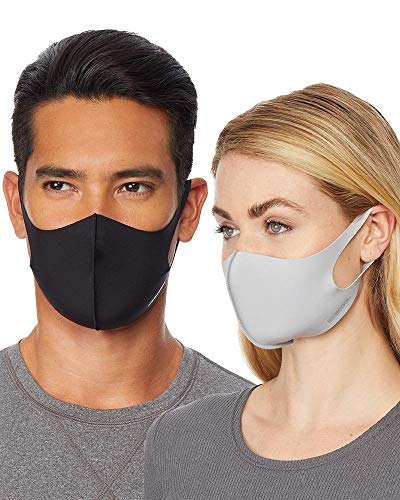 32 DEGREES Cool 3 Pack Unisex Adult Comfort FACE Covering MASK, Medium