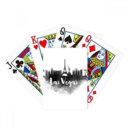 Las Vegas America Landmark Ink City Painting Poker Jeu de cartes magiques