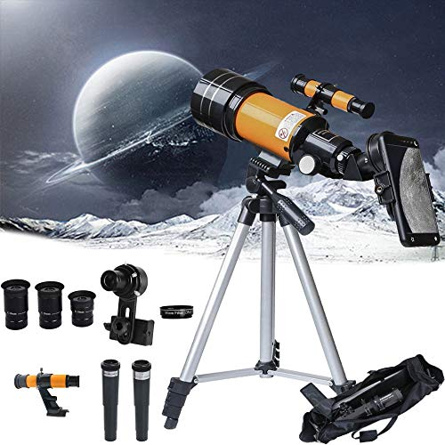 Telescopes for Adults Students, Adjustable Astronomy Telescope for Kids Beginners, Professional Stargazing High Magnification High Definition Astronomical Telescope, with Backpack
