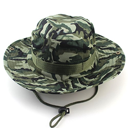 Sombrero de pescador de ala ancha Unimango, protección ultravioleta y secado rápido, para actividades al aire libre, senderismo, campamentos, viajes