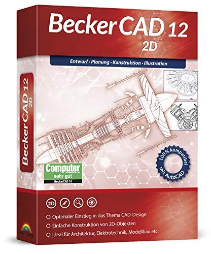 Markt+Technik -  BeckerCad 12 2D -