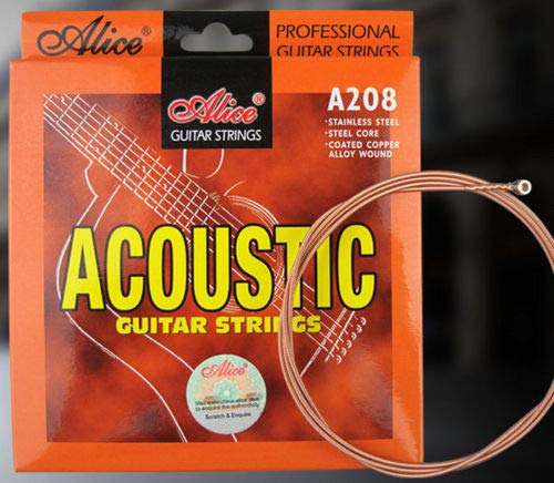 Cuerdas Guitarra Acústica Calibre 12s 0.12-0.53: Amazon.es ...