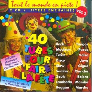 Tout Le Monde en Piste Vol. 3 (40 Tubes pour Faire La Fête) [Import Anglais]