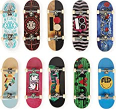 Tech Deck, DLX Pro 10-Pack of Collectible Fingerboards, For Skate Lovers Age 6 and up