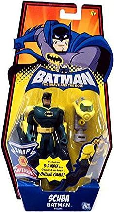 Amazon.com: DC Batman Brave and the Bold Action Figure Scuba ...