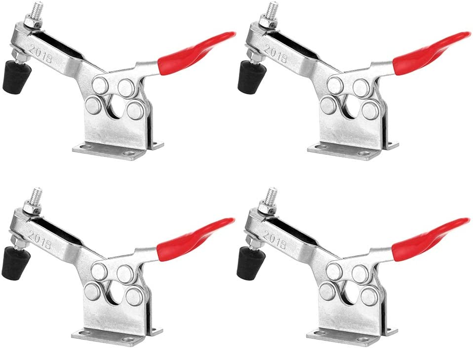 FactorDuty 4 Max 76% OFF Pack 5.5 Inch Popular popular Horizontal 201B Hand Too Clamp Toggle
