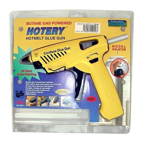 Ancofe - Pistola Termofusible Profesional Gas Hg8723
