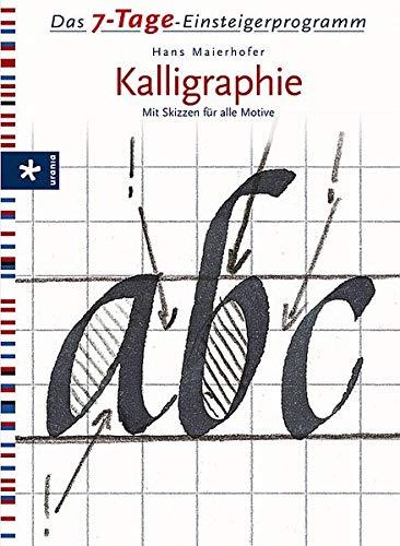 Das 7-Tage-Einsteigerprogramm Kalligraphie: Mit Skizzen für alle Motive