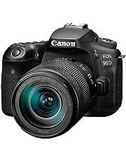 Canon 90D Digital SLR Camera with 18-135 IS USM Lens - Black,