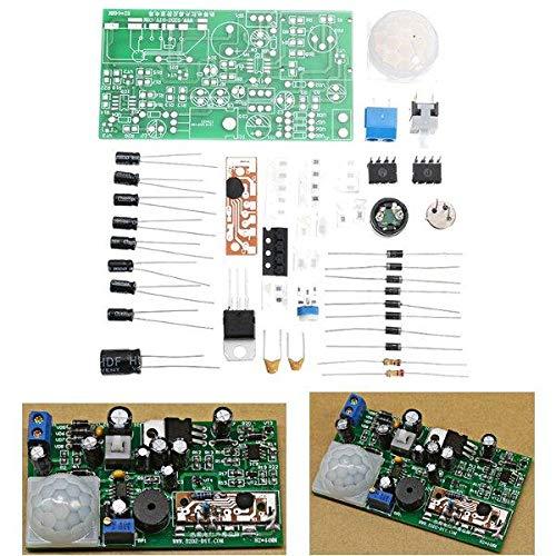 Dlb0109 3 Cuenta DIY Kits DE Sensor DE INFRUDO DE INFUMENTE DE DIY Circuito ANTIBROFT Circuito TECNOLOGÍA ELECTRÓNICA COMENCIONAL Alto Rendimiento