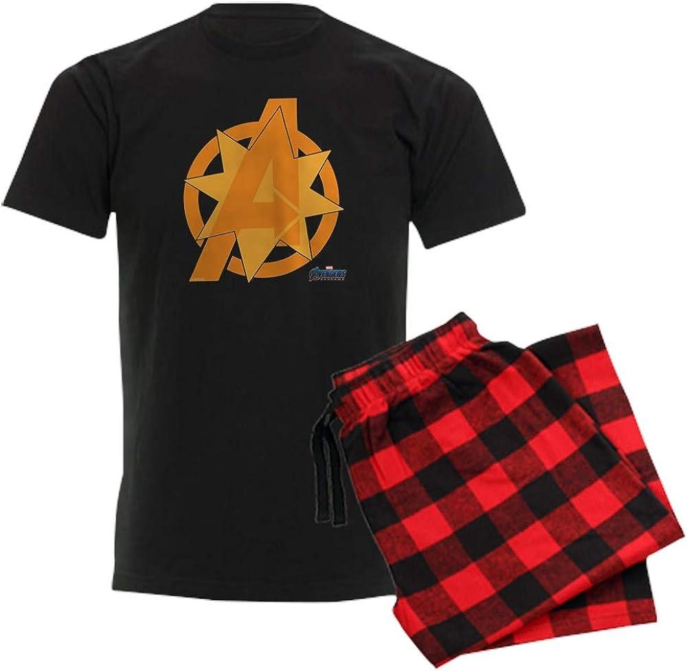 CafePress Avengers Sale price Endgame Orange Ranking TOP3 Pajama Logo Set