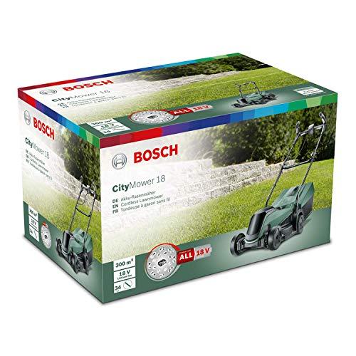 Bosch CityMower 18 Practicalities