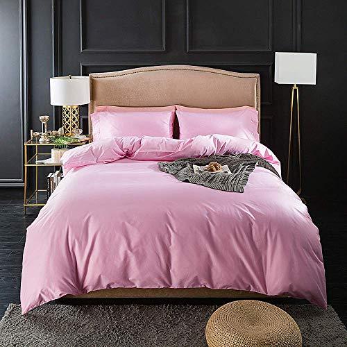 Komfort Bettwäsche Luxus Twin/Queen Size Erwachsene Pink Serie, CherryPowder, Queen