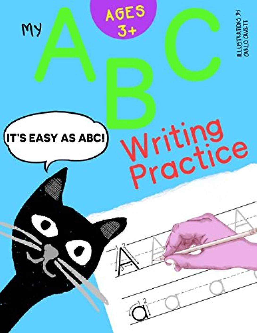 ウォーターフロント超えて神学校My ABC Writing Practice: Letter Tracing Practice Workbook (A to Z - Easy as ABC)