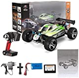s-idee 18131 A959-B RC Auto Buggy Monstertruck 1:18 mit 2,4 GHz Fahrzeug 70 km/h schnell, wendig, voll digital proportional 4x4 Allrad WL Toys ferngesteuertes Buggy Racing Auto