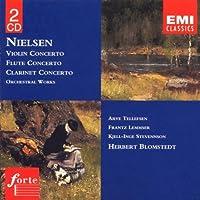 Nielsen: Violin Concerto / Flute Concerto / Clarinent Concerto / Orchestral Works (2004-11-18)