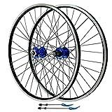 Juego de ruedas para bicicleta de montaña de 26 pulgadas, freno en V, aleación...