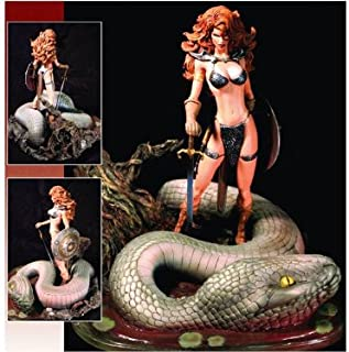 Red Sonja and Snake Michael Turner Resized Edition Statue