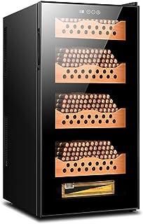 Humidors Intelligent tyst cigarr skåp konstant temperatur kontor intelligent temperaturreglering cederträ hylla (färg: Sva...