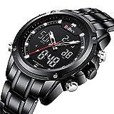 SW Watches Biden Reloj Digital LED Relojes De Pulsera Militares para Hombre...