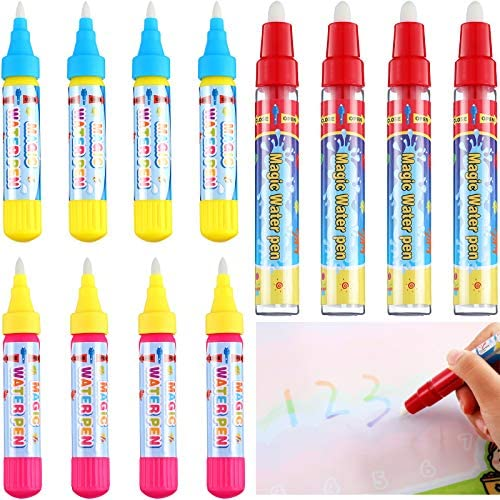 Outus 12 Pieces Magic Replacement Water Pen Water Doodle Pens Water Mat Pens for Drawing Mats product image