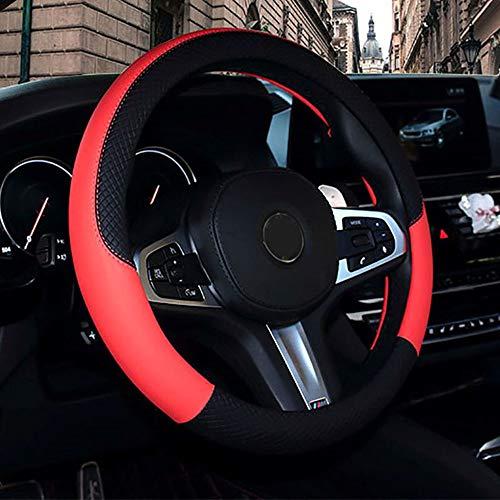 LINBUDAO Autolenkradabdeckung , Für Hyundai alle Modelle EIN Tucson iX25 i30 iX35 | Lenkdeckel |