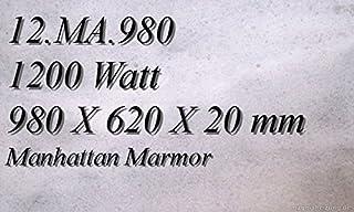 Calefacción por infrarrojos–Calefactor de infrarrojos eléctrico (mármol Magma Calefacción 1200W 12. MA.980