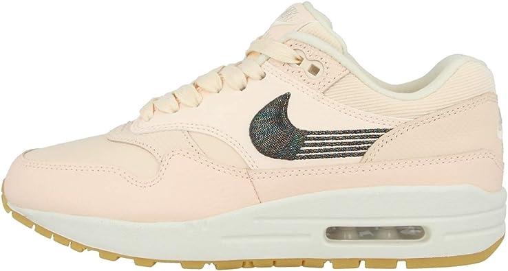 Amazon.com | Nike Air Max 1 Premium Guava Ice/Guava Ice-Gum Yellow ...