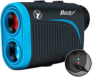 Bozily 6x Rechargeable Golf Rangefinder with Slope