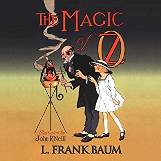 The Magic of Oz cover art