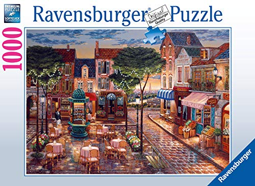 Ravensburger Puzzle, Puzzle 1000 Piezas, Pinceladas de París, Puzzles para Adultos, Puzzle Fantasy, Puzzle Paris, Rompecabezas Ravensburger